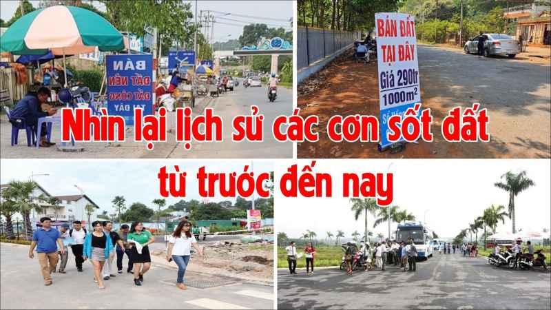 lịch sử các cơn sốt đất tại Việt Nam