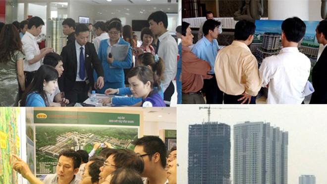Năm 2007, để mua được căn hộ tại TP.HCM, người dân phải xếp hàng, chen lấn xô đẩy và đặt cọc hàng trăm triệu đồng.
