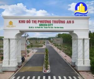 cổng dự án Phương Trường An 5