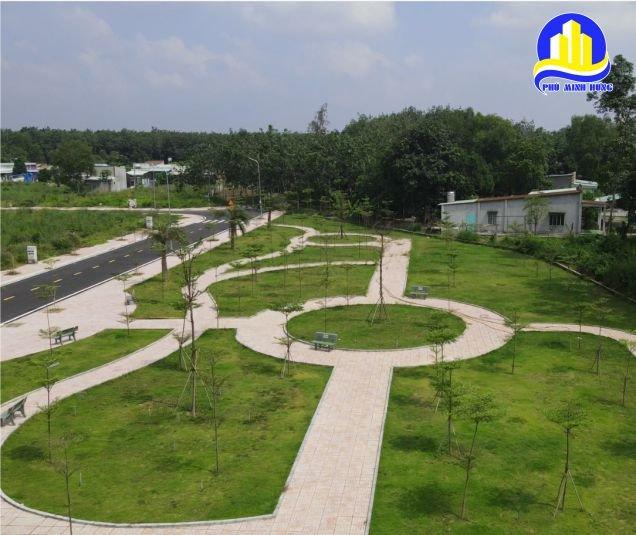 công viên bên trong dự án