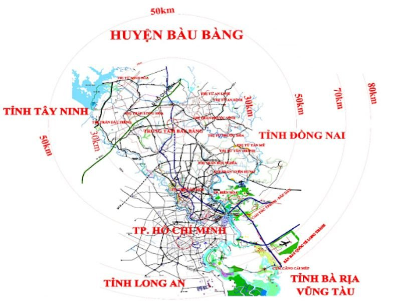giao thông tại Bàu Bàng