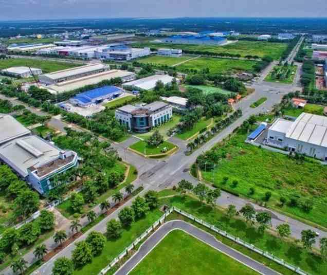 bất động sản công nghiệp phát triển